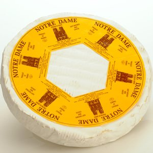 Cheese Brie Notre Dame 2.2 lb Wheel from France