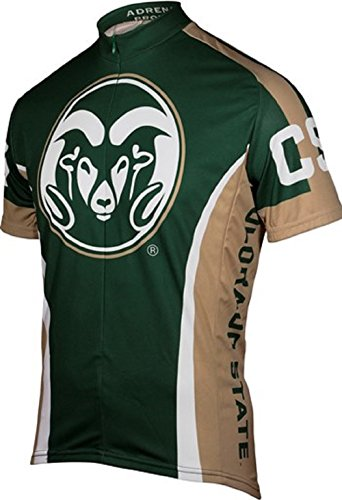 (Adrenaline Promotions NCAA Men's Colorado State University Cycling Jersey (XXX-Large))