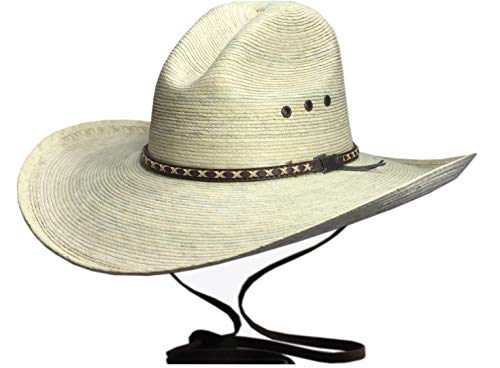 BULL-SKULL HATS, Palm Leaf Cowboy HAT, GUS 505