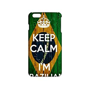 3D Case Cover Keep Calm I am Brazilian Phone Case for iPhone6