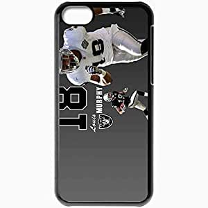 Personalized iPhone 5C Cell phone Case/Cover Skin 373 oakland raiders 0 Black