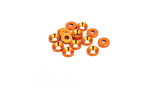 Aexit Round 26x11x4.6mm Washers Ceramic Insulation Protection Washer Flat Washers White 5pcs