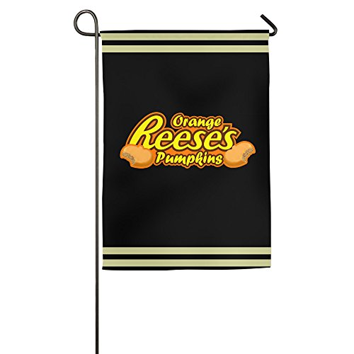 [WILLIE Reese's Cup Logo Garden Flag House Flag College Flag For Home Garden Party Supplies Weeding Dinner Sporting Game] (Captain Murphy Costume)