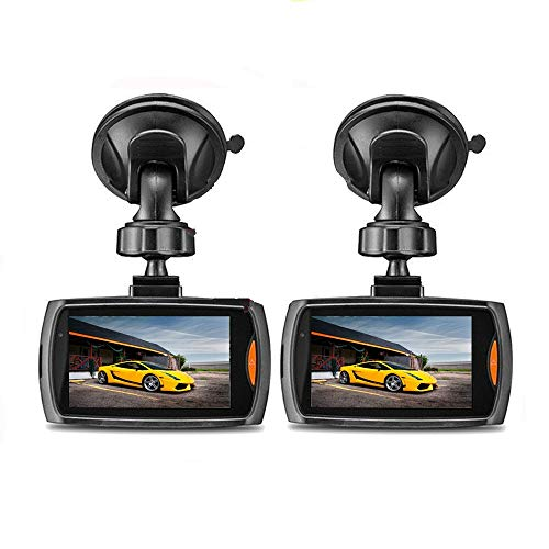 Halloween Hot Sale!!!Kacowpper 2 Pcs Dash Cam G-Sensor Full HD 1080P 2.2