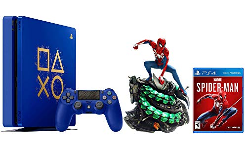 PlayStation Spider-Man Collector Limited Bundle: Spider-Man Statue, Limited Edition Days of Play PlayStation 4 Slim 1TB Console and Marvel