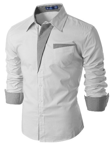 Doublju Cotton Flannel Sleeve Button product image