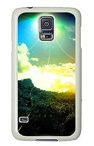 Samsung Galaxy S5 Case,Samsung Galaxy S5 Cases - Colorful sky Custom Design Samsung Galaxy S5 Case Cover - Polycarbonate¨CWhite