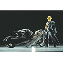 Final Fantasy Advent Children Cloud Strife & Fenrir Motorcycle Action Figure Deluxe Set