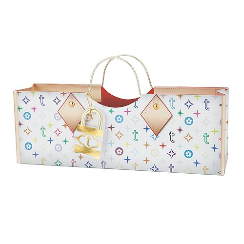 Cakewalk Colorful Truey Wine Purse