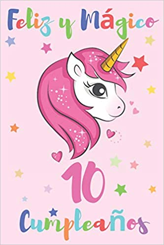 Amazon.com: Feliz y Mágico 10 Cumpleaños: Diario para ...