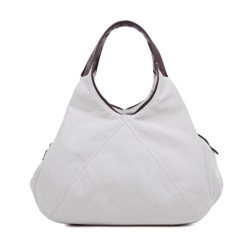 Blue Color Pure Hobo Crossbody Women Bag Shoulder Micom Canvas for Tote qvEPE