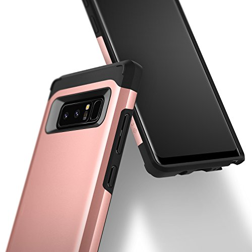 Galaxy Note 8 Case, Caseology [Legion Series] Slim Heavy Duty Protection Dual Layer Armor for Samsung Galaxy Note 8 (2017) - Rose Gold