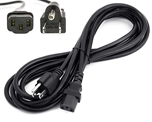 Amamax 12 Feet Long AC Power Cord Cable for VIZIOTV