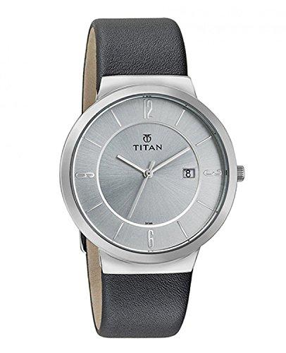Titan Analog Silver Dial Men #39;s Watch NM90053SL01/NN90053SL01