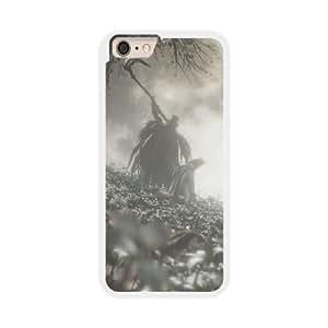 Bloodborne J2I0KM5J Caso funda iPhone 6 Plus 5.5 pulgadas del teléfono celular blanco
