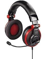 """Hama Overhead-Headset """"Insomnia"""" für PS3 und Xbox360, rot"""