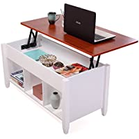 JAXPETY Lift Top Coffee Table Adjustable Height Storage Living room Furniture Stylish New