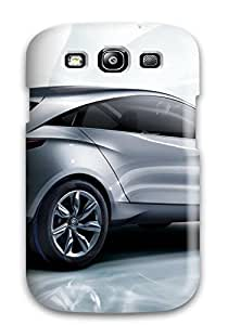 Flexible Tpu Back Case Cover For Galaxy S3 - Silver Bmw Car