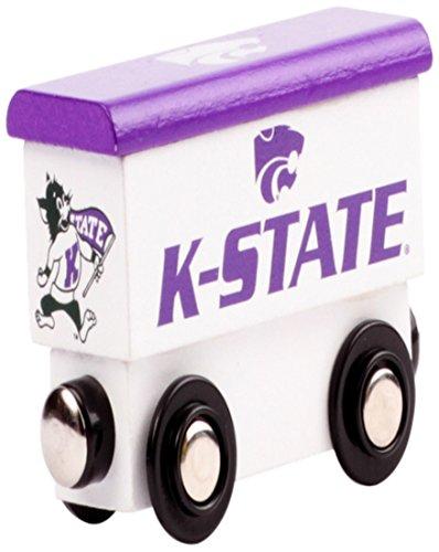 College Team Trains NCAA Kansas State Wildcats Kids Toy Box Car, Small - Kansas Train Set