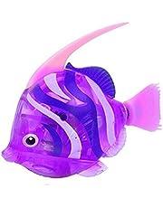 OUTEYE Pływający ryba robot aktywowany w wodzie magiczna elektroniczna zabawka do kąpieli edukacja śmieszne gadżety ciekawe zabawki prezent