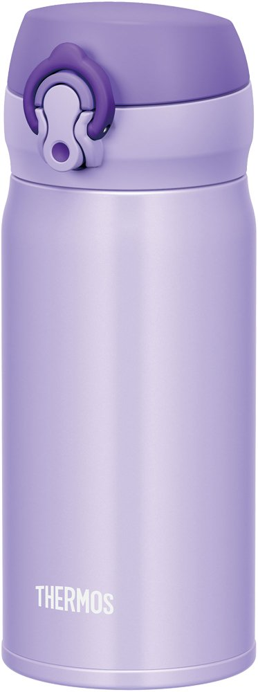 Thermos Water Bottle Vacuum Insulation Travel Mug [one-touch open type] 0.35l