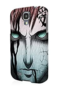 S40677 gaara naruto Glossy Case Cover For Galaxy S4 by mcsharks