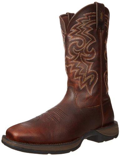 Homme Chocolat Boot Noir Durango 12 dxwqH1dO