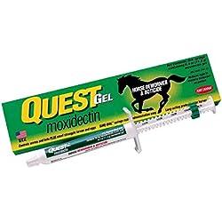 Quest Horse Wormer Gel Paste Equine Moxidectin Dewormer & Boticide 0.4oz 1 Tube