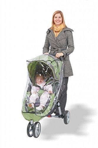 - Comfy Baby! Universal Single Jogging Stroller Waterproof Rain Cover/Wind Shield