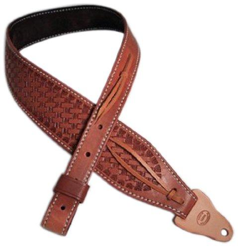 Diamond D Rifle Sling, Natural Oil Padded Basket Weave