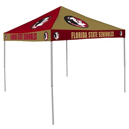 Florida Pinwheel (NCAA Florida State Seminoles 9-Foot x 9-Foot Pinwheel Tailgating Canopy, Garnet/Gold)