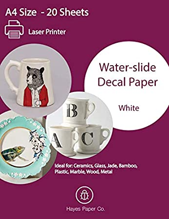Amazon.com: Hayes Paper, calcomanía de papel para toboganes ...