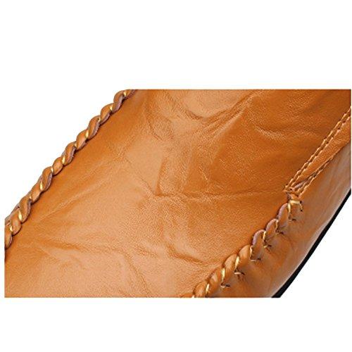 Perezosos Pequeños De Hombres Zapatos Darkbrown Guisantes Diariamente Zpedy Casuales qFfY4Fw