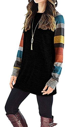 HARHAY Womens Knitted Lightweight Sweatshirt product image