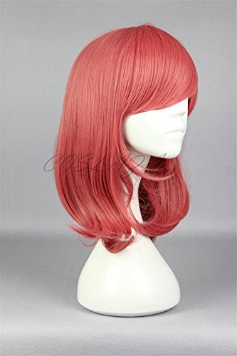 COSPLAZA Cosplay Wigs Halloween Party Hair Synthetic Wig Heat Resistant Watermelon Pinky by COSPLAZA (Image #2)