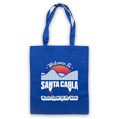 Inspired World Unofficial Murder Lost The Blue Inspired by Santa Apparel Carla Tote Bag Capital Royal Of Boys TnTPrH1