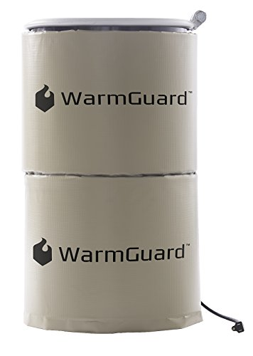 WarmGuard WG15 Insulated Drum Band Heater - Barrel Heater, Fixed Internal Thermostat Max Temp 145 F by WarmGuard (Image #2)