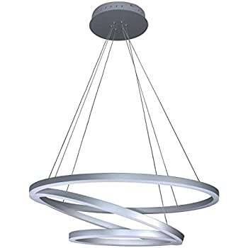 Amazon vonn vmc32500al modern 32 led chandelier adjustable vonn vmc32500al modern 32 led chandelier adjustable hanging light modern circular chandelier lighting aloadofball Choice Image