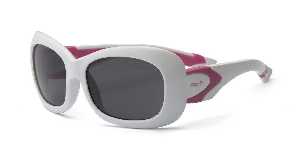 Breeze Niñ os Gafas de sol ajuste, flexible, tamañ o 4 + blanco blanco/rosa tamaño 4+ blanco blanco/rosa Real Kids 4BREWHPK