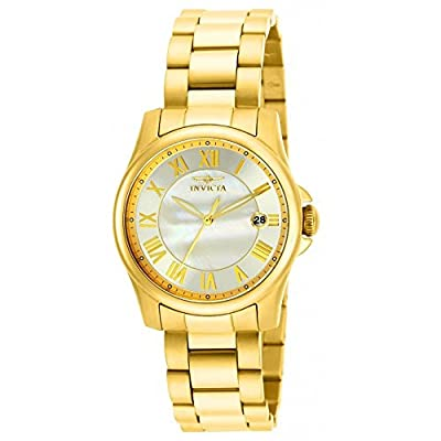 Invicta-Angel-Mother-of-Pearl-Dial-Stainless-Steel-Ladies-Watch-15235--Watch----