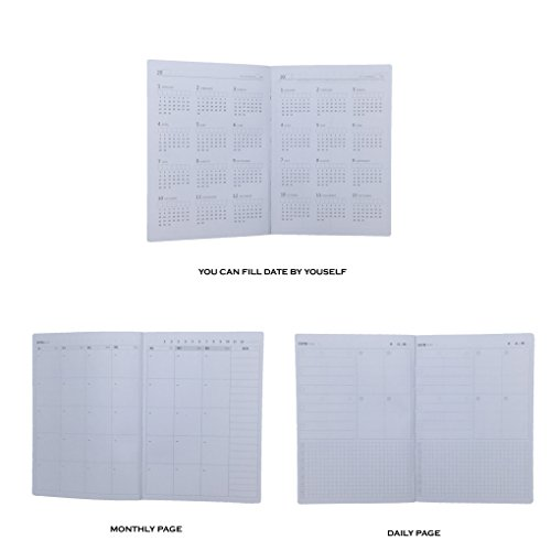 lucky cion kinbor planners daily calendar academic time management