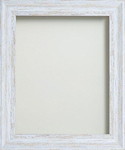 Frame Company Lynton Range Picture Photo Frame, Rustic White , 6 x 4 ...