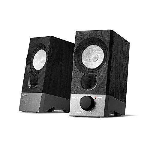 Edifier R19U 2.0 Speaker System - 4 W RMS - Bookshelf, Deskt