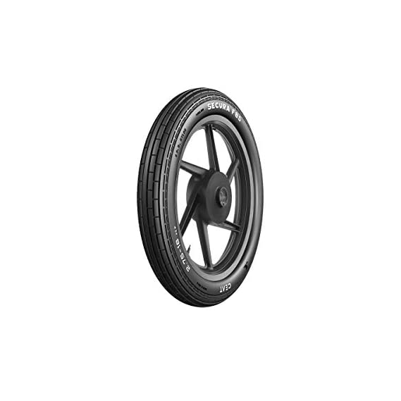Ceat F85 2.75-17 41P Tubeless Bike Tyre, Front