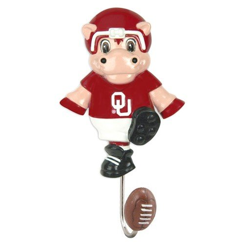NCAA Oklahoma Sooners Mascot Wall Hook