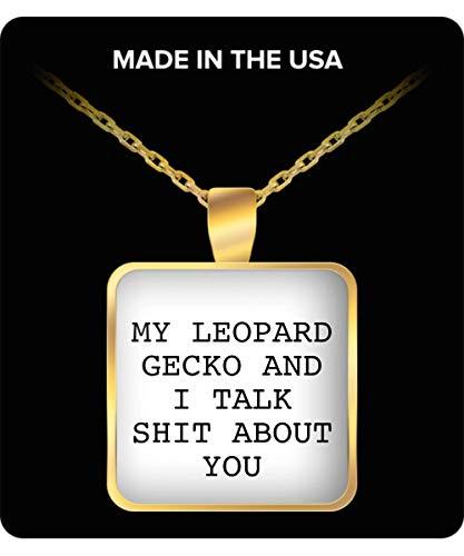 22Mugs Leopard Gecko Necklace - Merchandise/Merch Gifts - Geckos Stuff