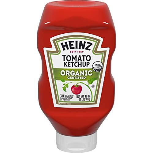 Heinz Organic Tomato Ketchup, 32 oz Bottle