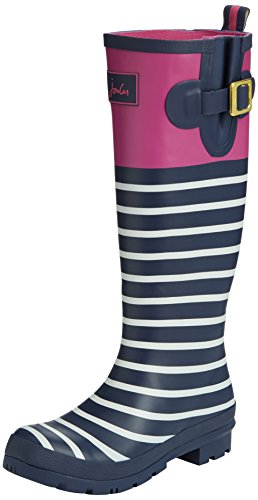 outlet order online Joules Women's Wellyprint Wellington Boots Multicolour (Exclusive Magenta) discount shopping online VyBtoC5v
