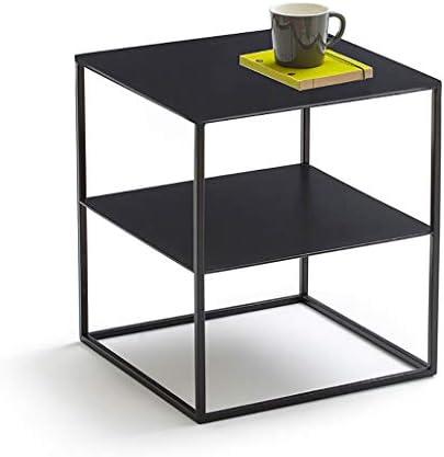 Goedkoopste Saladplates-LXM bijzettafel, nachtsofa, bijzettafel met metalen frame, koffie snack tafel voor thuis, kantoor, slaapkamer, hal, woonkamer, balkon  PP2U5Dw