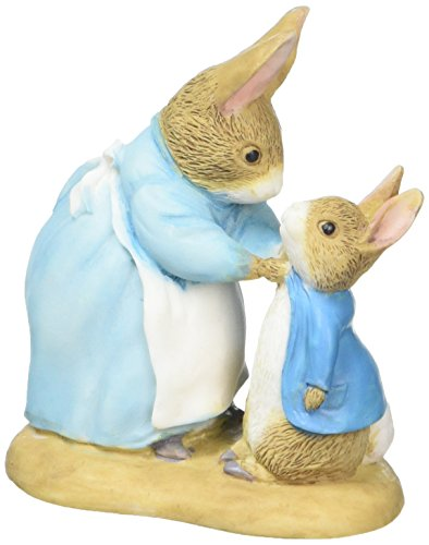 Beatrix Potter Miniature Figurine - Mrs Rabbit and Peter (271780)